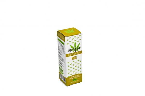 Hemp4Life 30ml 10% CBD olaj doboz lyukadós
