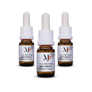 Marry Jane Full Spectrum MCT CBD olaj 10ml 20% 3db