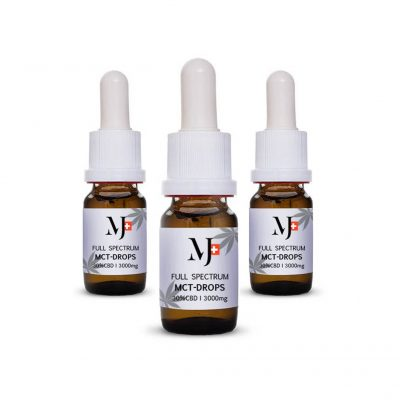 Marry Jane Full Spectrum MCT CBD olaj 10ml 30% 3db