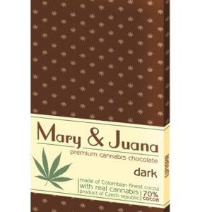 Euphoria Mary & Juana kannabiszos étcsokoládé 80g