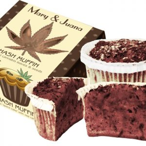 Euphoria Mary & Juana kannabiszos Muffin 60g