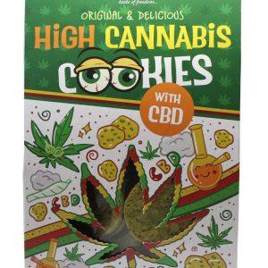 Euphoria kannabiszos Cookies CBD-vel 100g