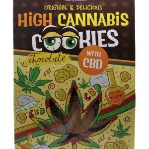 Euphoria kannabiszos csokoládés Cookies CBD-vel 100g