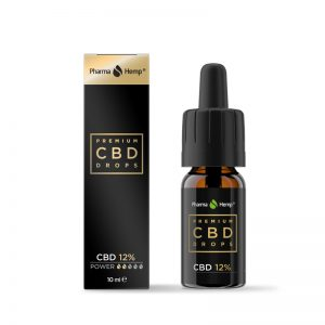 Pharmahemp Full spektrum CBD Premium Black olaj 10ml 12%