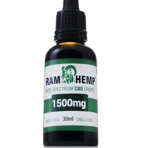Ramhemp 1500mg Wide Spectrum CBD + CBG olaj 30ml 5%