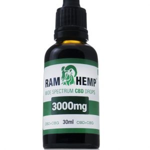 Ramhemp 3000mg Wide Spectrum CBD + CBG olaj 30ml 10%