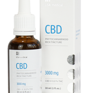 Usa Medical CBD olaj 30ml 3000mg
