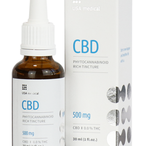 Usa Medical CBD olaj 30ml 500mg