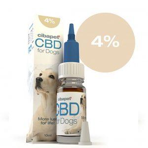 CIBAPET CBD olaj kutyáknak 10ml 4%