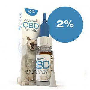 CIBAPET CBD olaj macskáknak 10ml 2%