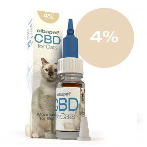 CIBAPET CBD olaj macskáknak 10ml 4%
