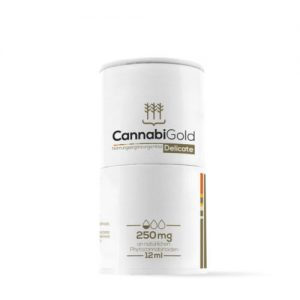 CannabiGold Delikát 250mg Full spektrum CBD olaj 12ml