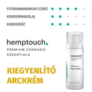 Hemptouch kiegyenlítő arckrém 50ml