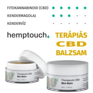 Hemptouch terápiás CBD bőrbalzsam 50ml