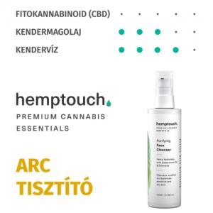 Hemptouch tisztító arclemosó 100ml
