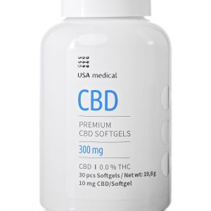 Usa Medical CBD kapszula 30db 300mg