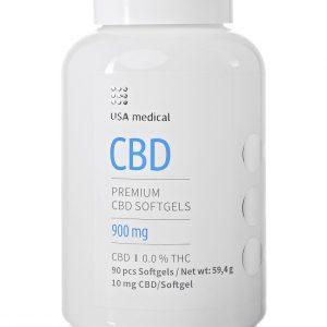 Usa Medical CBD kapszula 30db 900mg