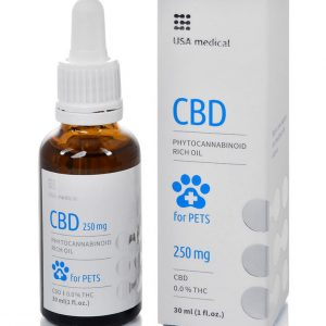 Usa Medical CBD olaj állatoknak 30ml 250mg