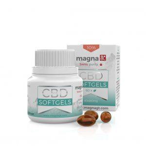 Magna G&T CBD Lágygél kapszula 260 mg 10%