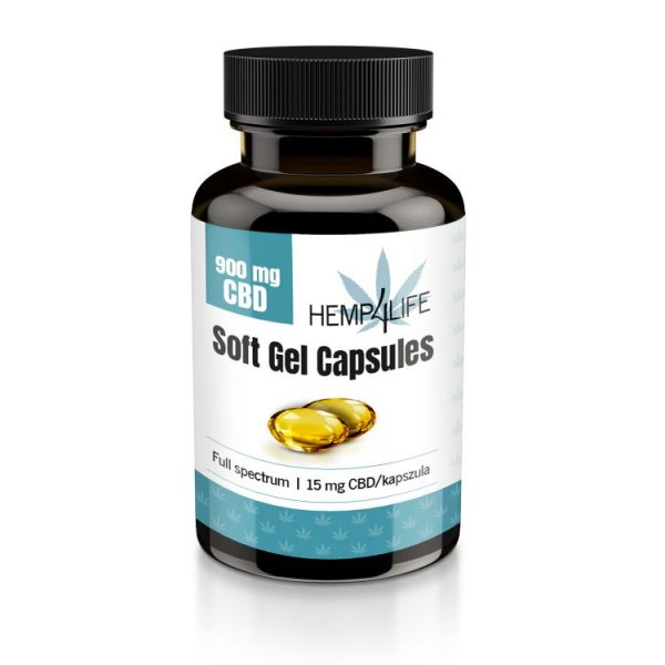 Hemp4Life 900 mg Soft Gel Capsules