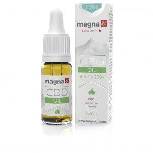 Magna G&T 10ml 2,5% CBD olaj (olivás)