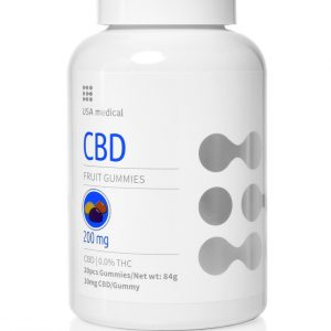 USA Medical CBD gumipasztilla 200mg 20 db