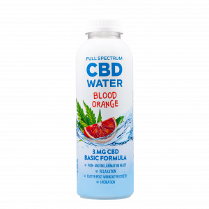 AIDVIAN Full Spectrum CBD Water BLOOD ORANGE 3 mg 500 ml (1)