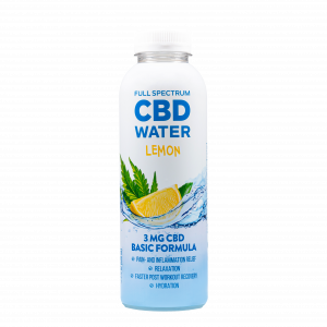 AIDVIAN Full Spectrum CBD Water LEMON 3 mg 500 ml