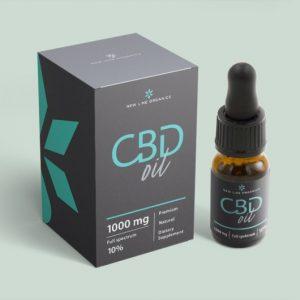 New Line Organics CBD olaj 10% (10 ml)