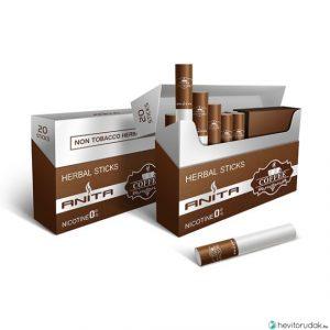 ANITA Kávé ízű nikotinmentes hevítőrúd - 1 Doboz
