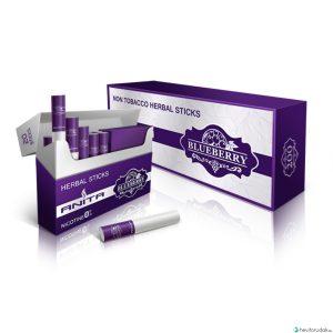 ANITA Áfonya ízű nikotinmentes hevítőrúd - 1 Doboz