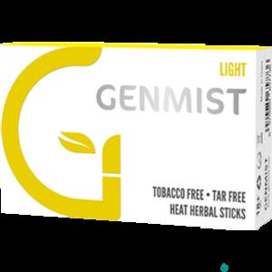 GENMIST Nikotinos hevítőrúd Light - 1 DOBOZ