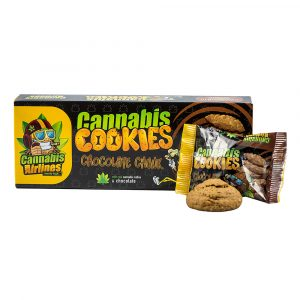 Cannabis Airlines Cookies-Chocolate keksz