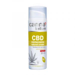 Cannabellum Canneczema krém CBD-vel