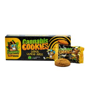 Cannabis Airlines Cookies-Lemon keksz