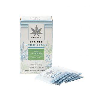 Cannaline Memory & Focus CBD Tea