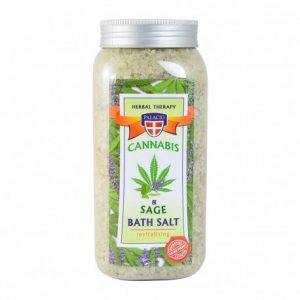 Palacio Cannabis kannabiszos-holt-tengeri-sós fürdősó 900g